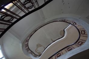 Treppenhaus im Haus der Offiziere Wünsdorf
